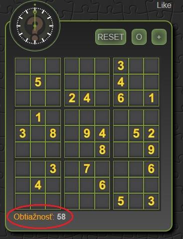 Pravidl Sudoku, ako hra sudoku
